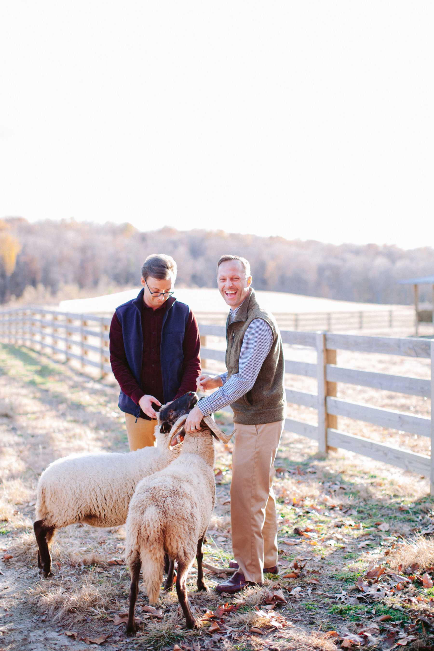 Aisle Society for Minted Farm Engagement Session Nikki Santerre (23)