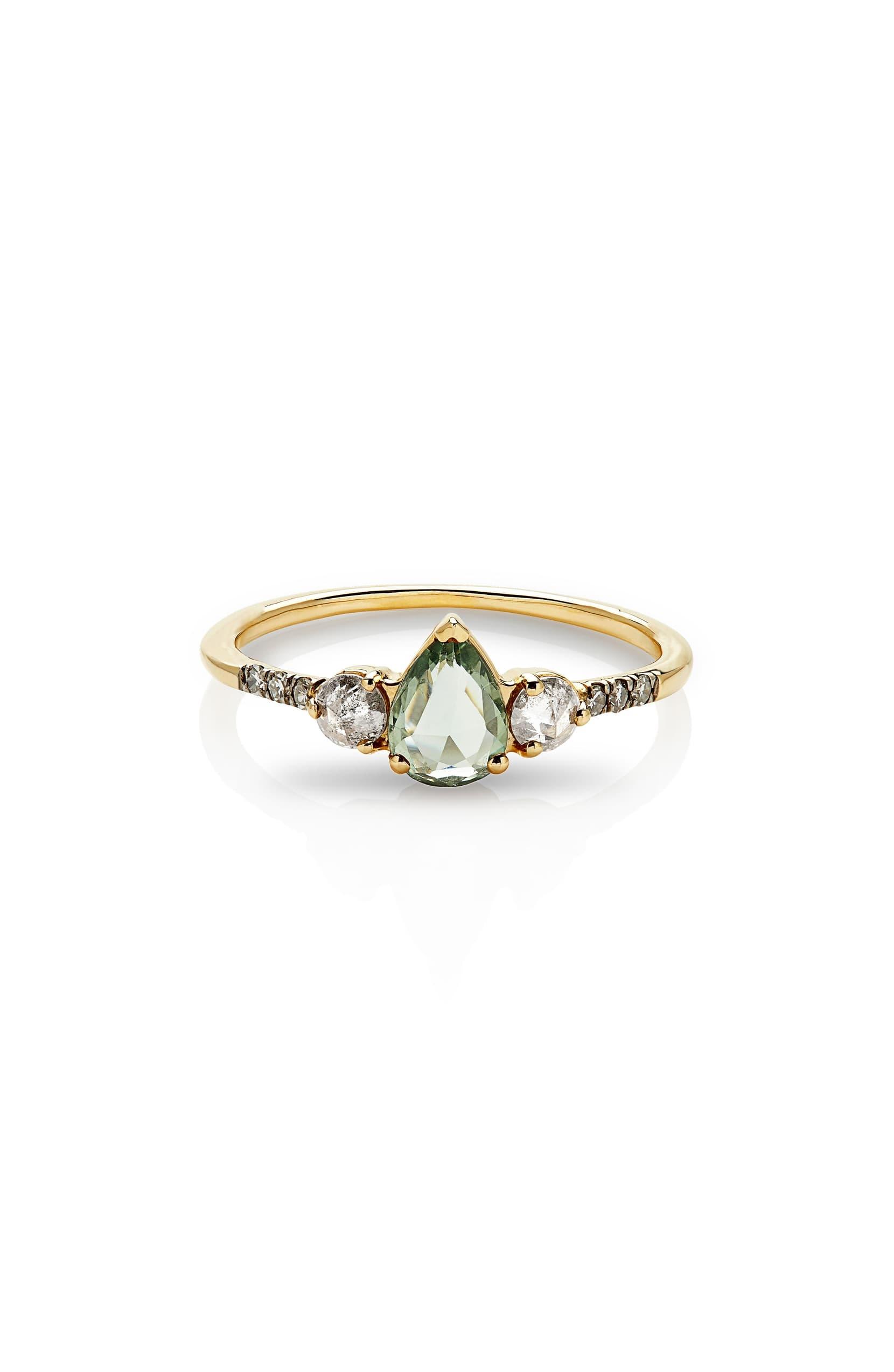 Radiance Sapphire & Diamond Engagement Ring