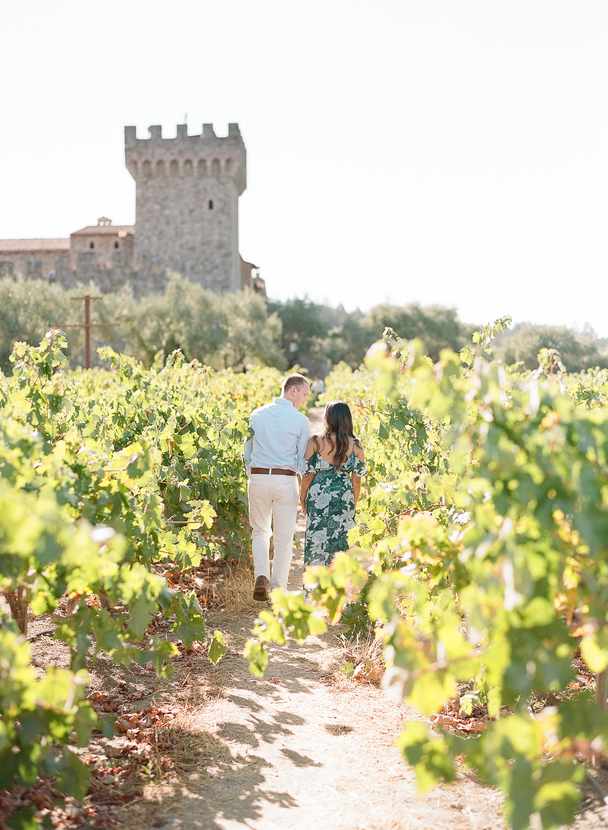 Castello di Amorosa Engagement Session in Napa The Ganeys07