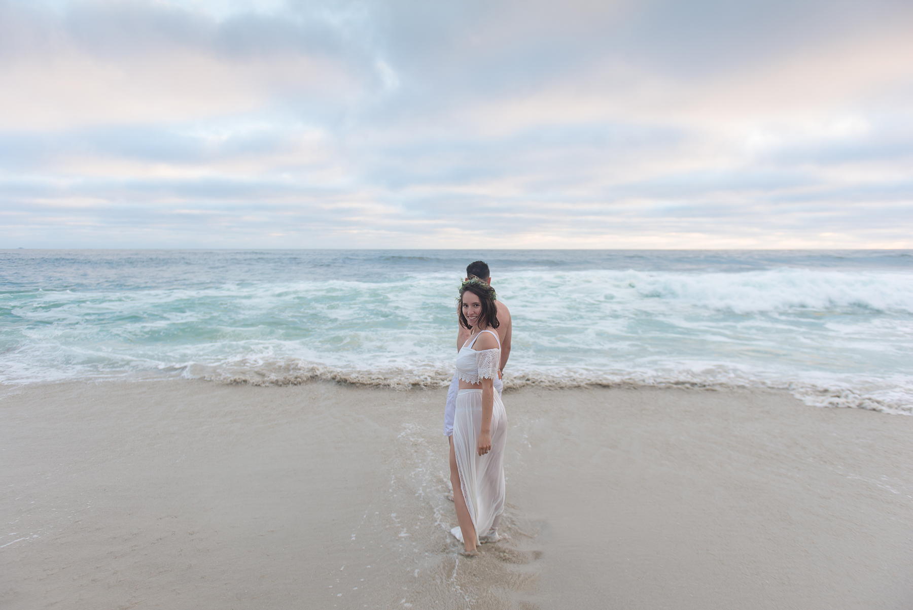 Romantic Beach Sunset Engagement Session Victoria Parker Photography06