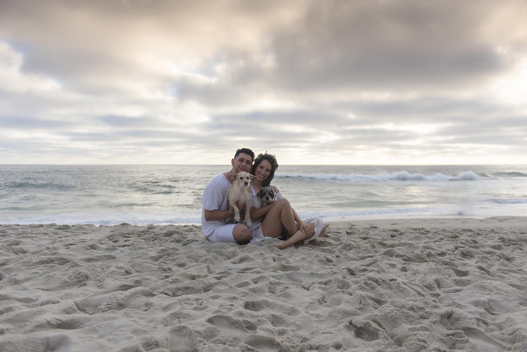 Romantic Beach Sunset Engagement Session Victoria Parker Photography08