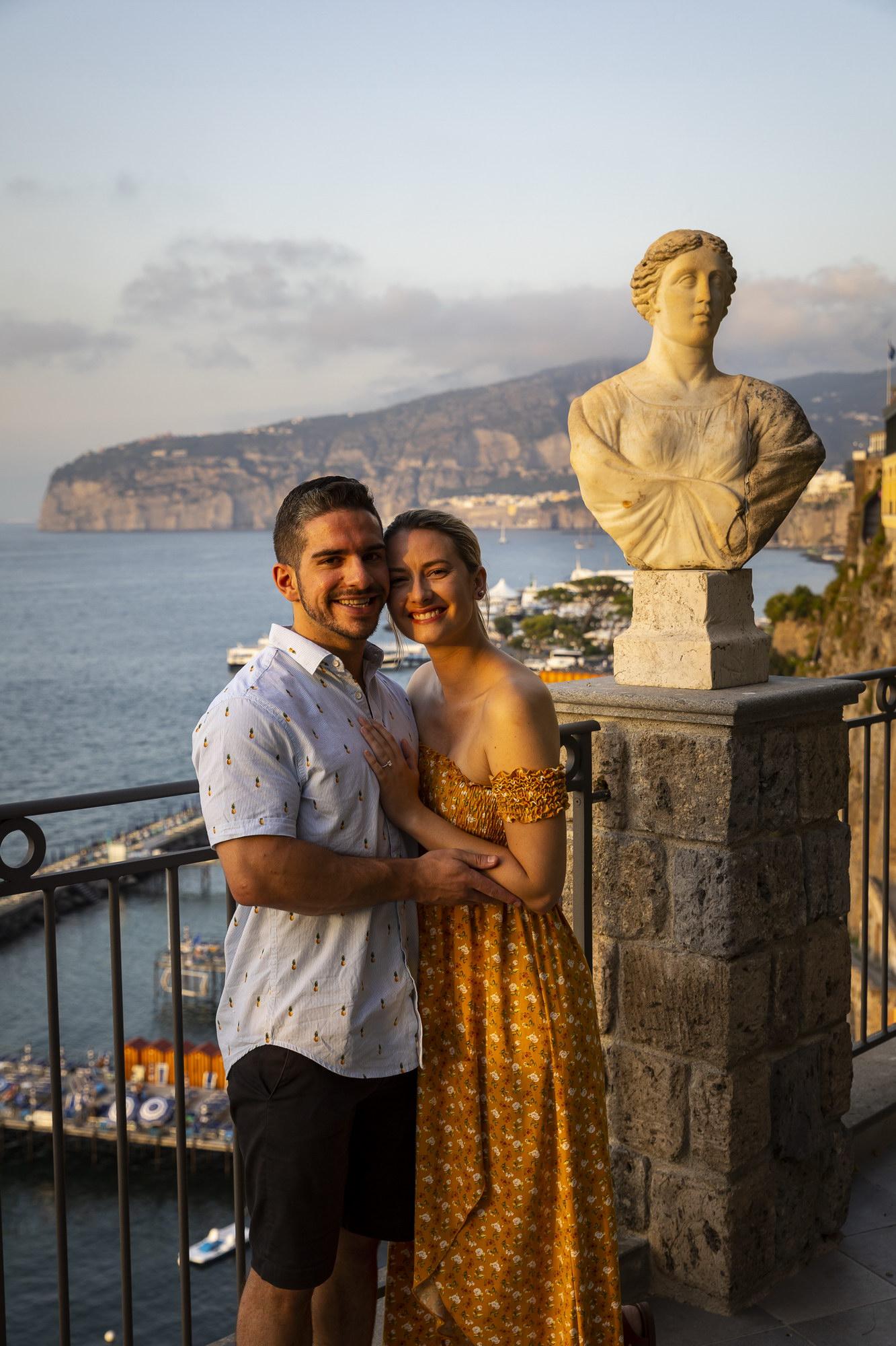 Seaside Engagement in Sorrento Andrea Matone09