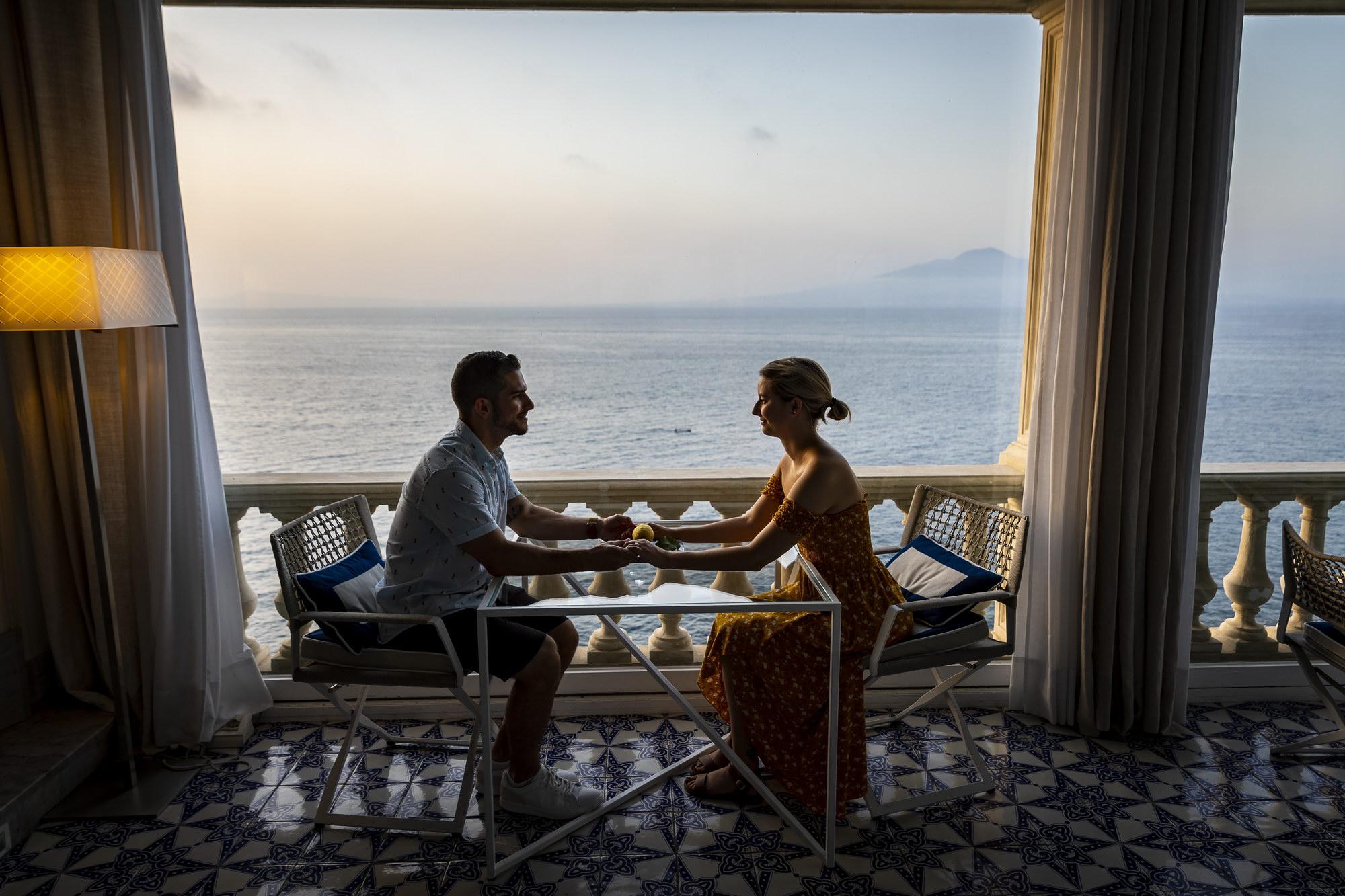 Seaside Engagement in Sorrento Andrea Matone13