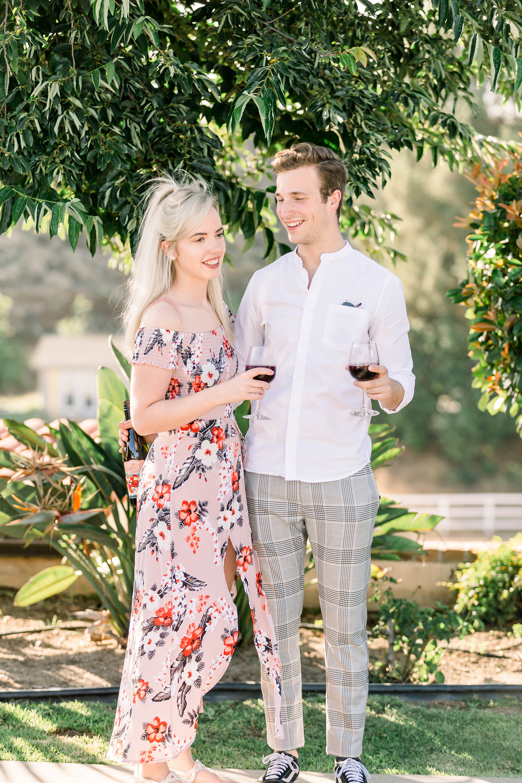 Sweet Vineyard Proposal in California Janita Mestre02