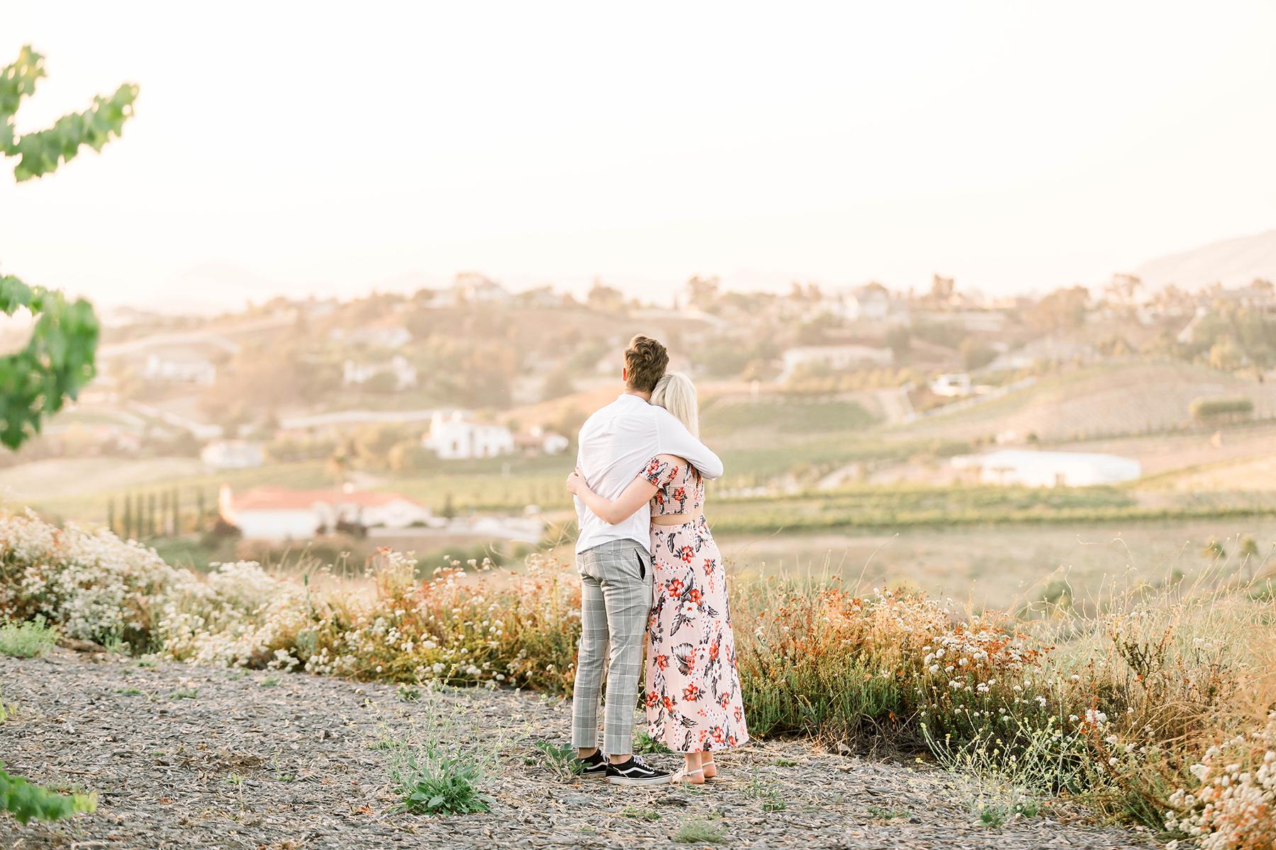 Sweet Vineyard Proposal in California Janita Mestre05