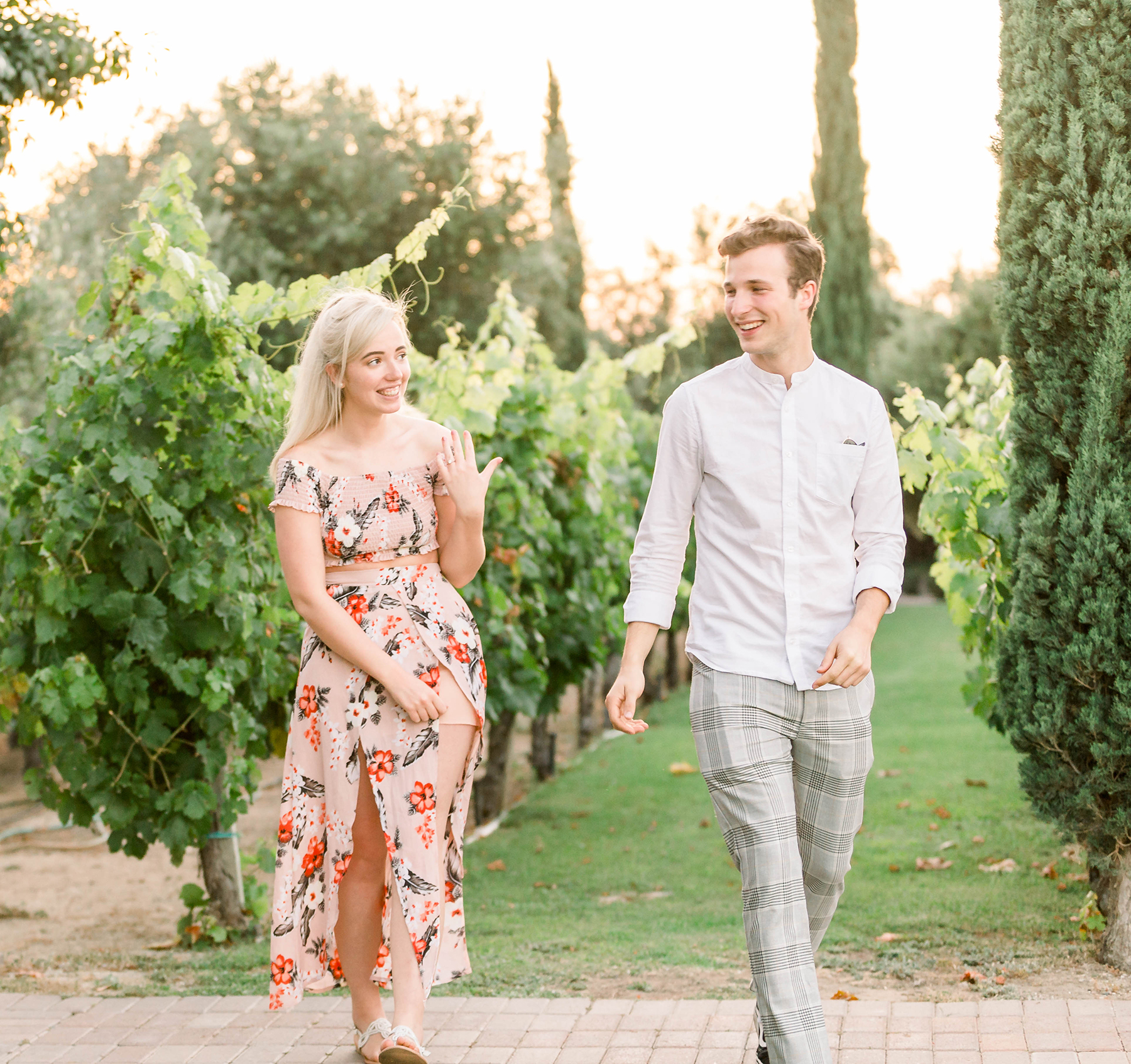Sweet Vineyard Proposal in California Janita Mestre17