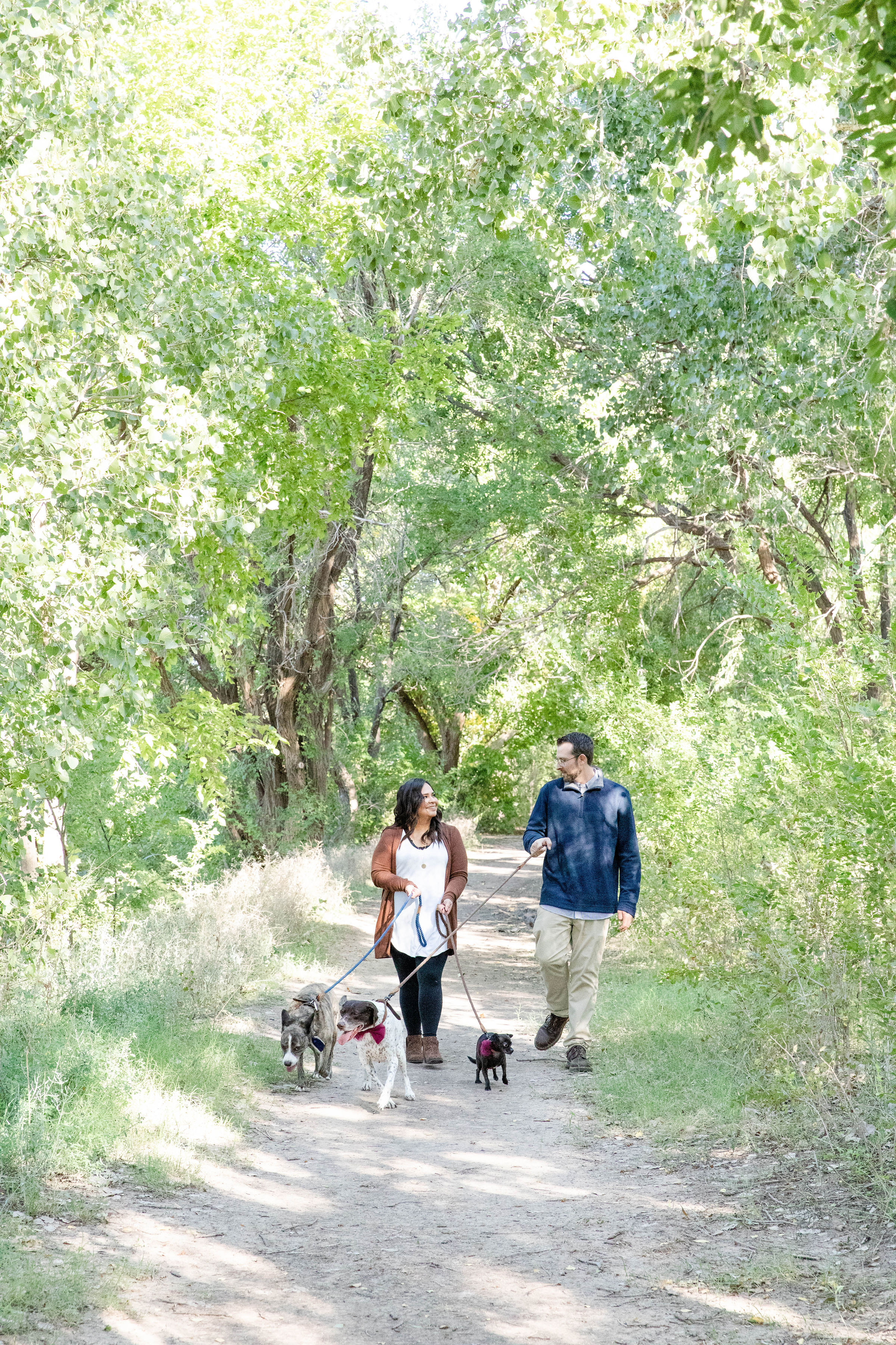 Outdoor Garden Engagement Session in Lubbock Kirsten Prater10
