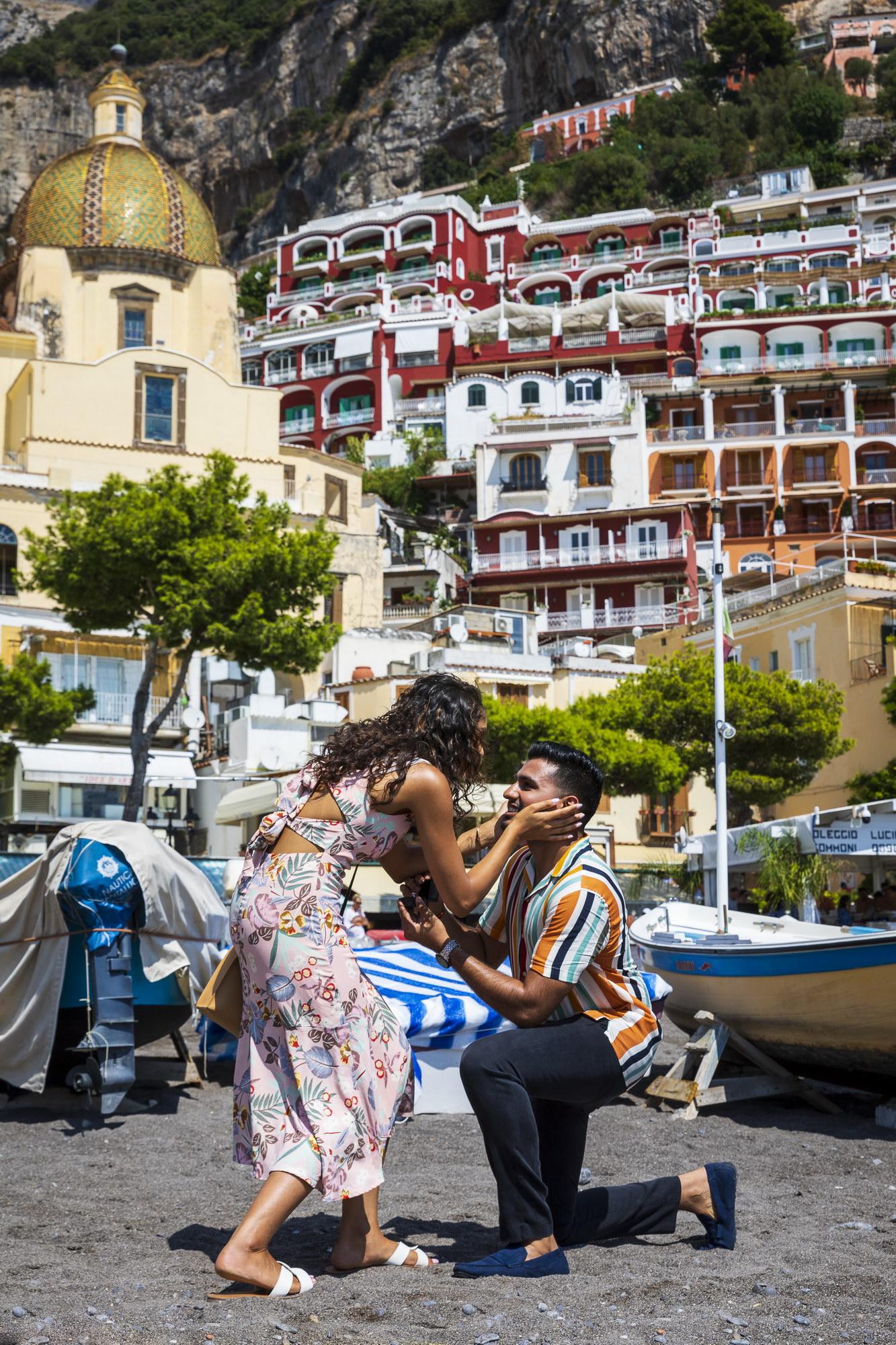 Sweet Positano Beach Proposal Andrea Matone Photography02