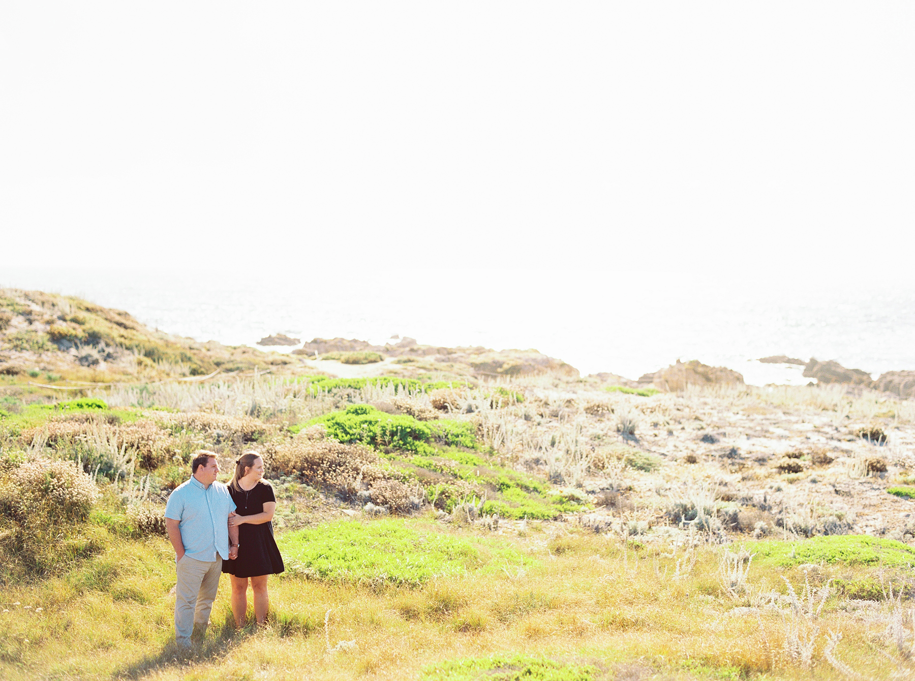 A Golden Hour Engagement Session in Monterey Sarahi Hadden06