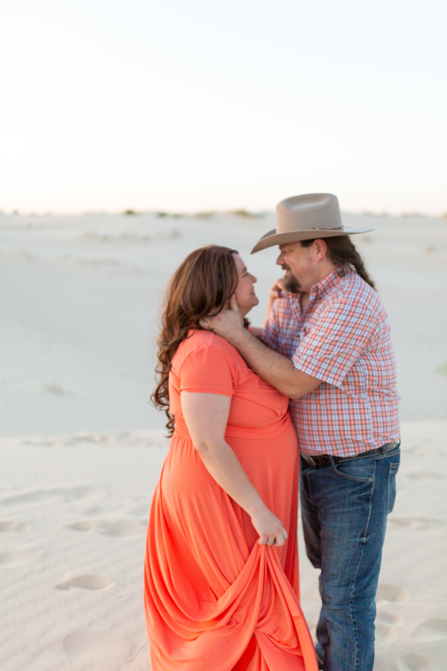 Adventurous Sand Dunes Engagement Session in Texas My Guiding Light Photography01