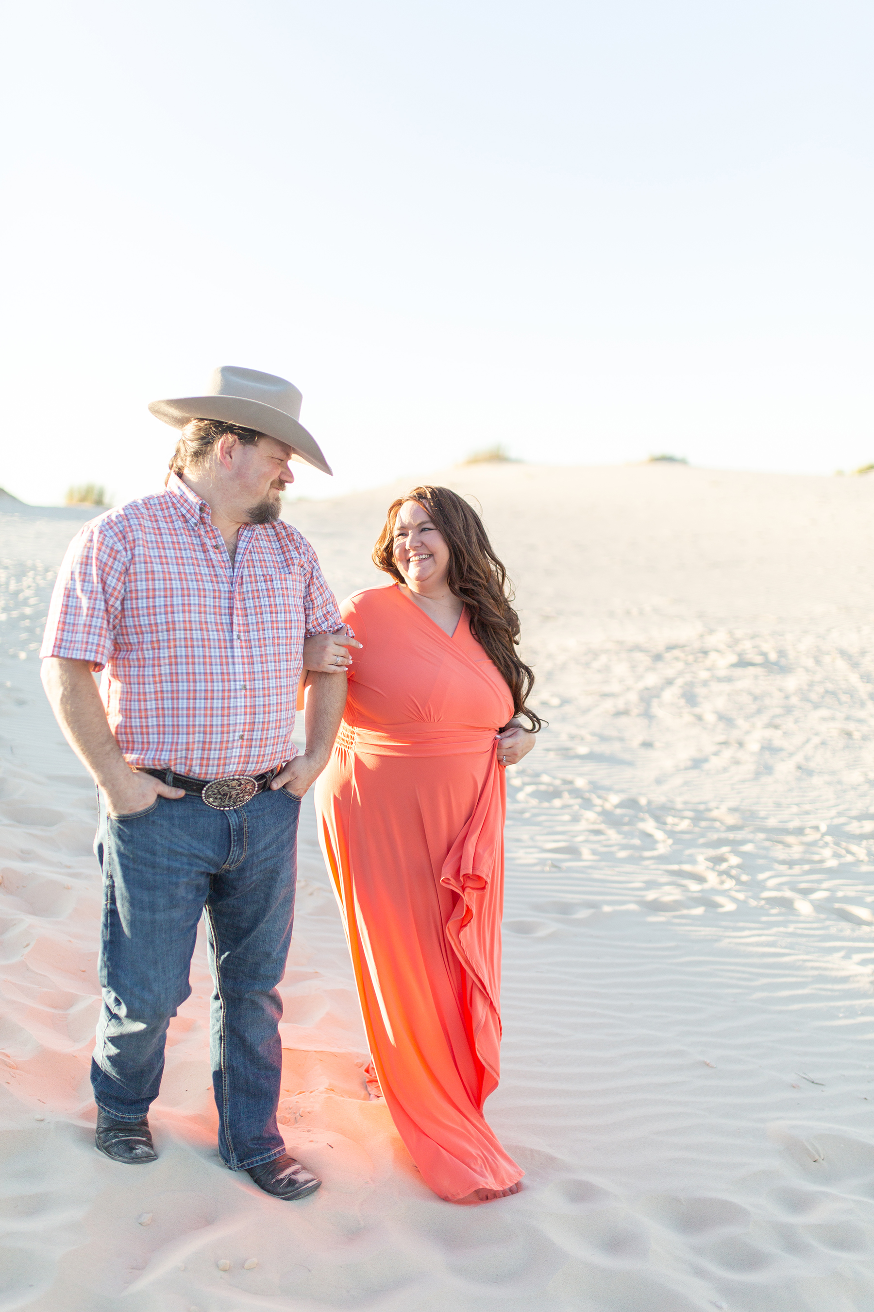 Adventurous Sand Dunes Engagement Session in Texas My Guiding Light Photography05
