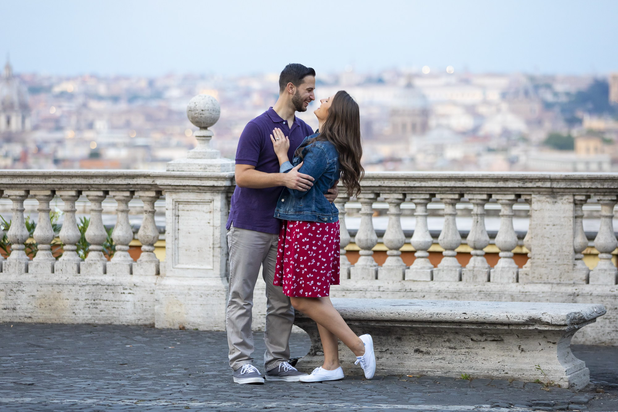 Roman Wedding Proposal With a View Andrea Matone11