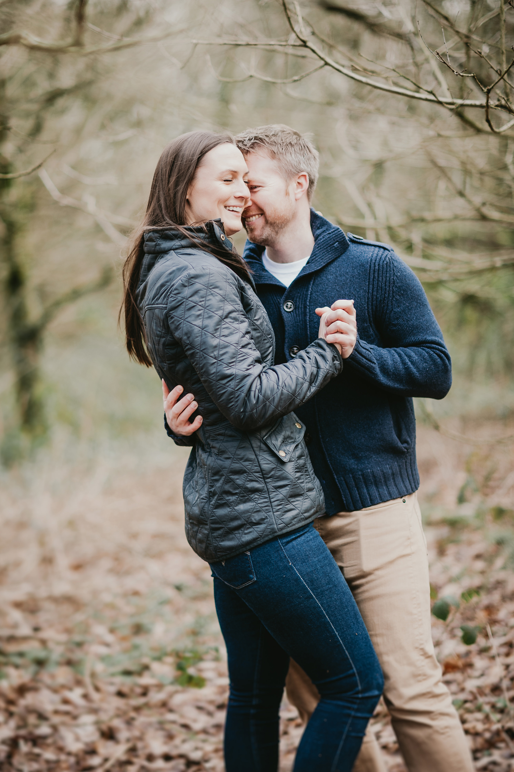 Homey Woodland Engagement Session in Manchester Gary Anderson05