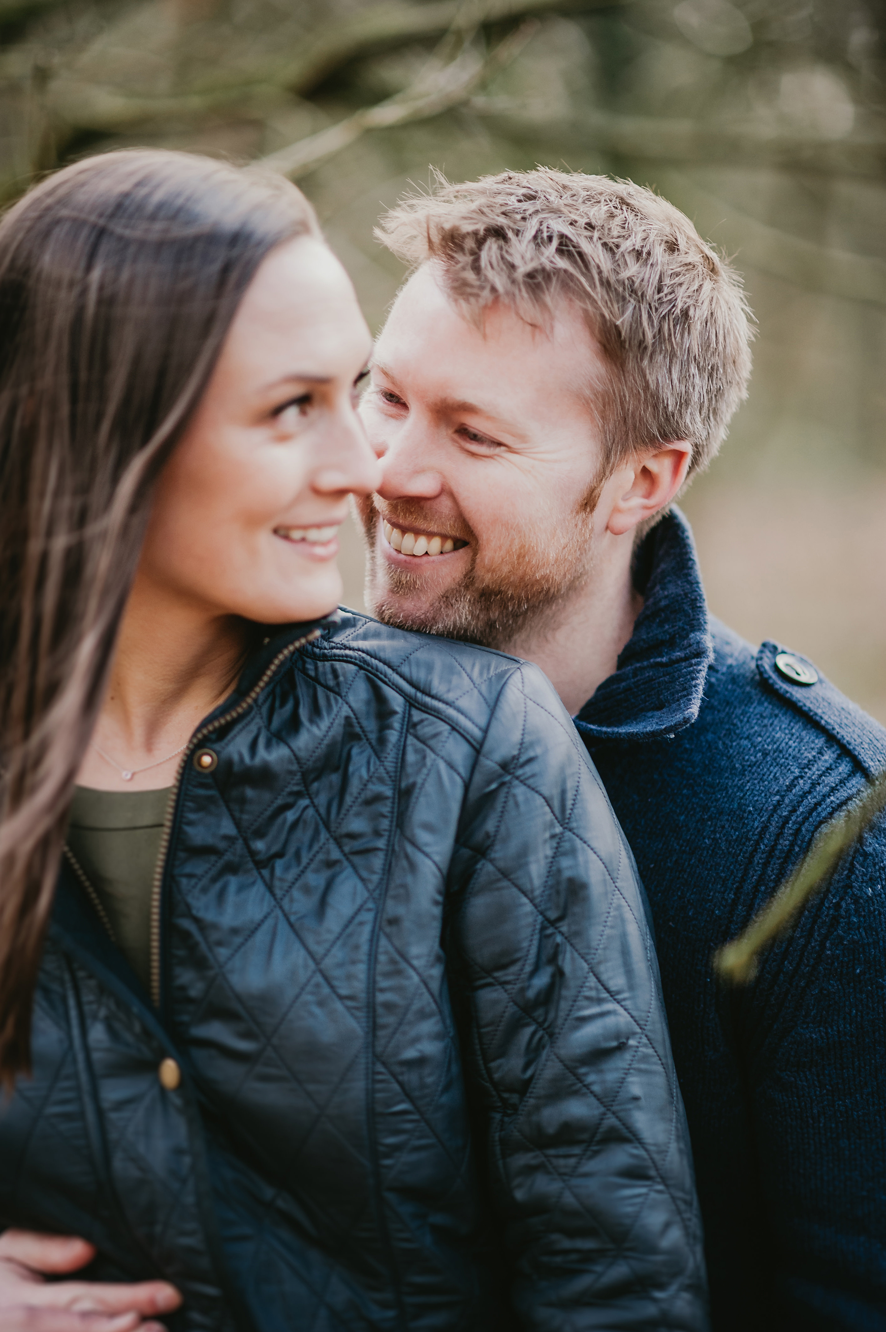 Homey Woodland Engagement Session in Manchester Gary Anderson06