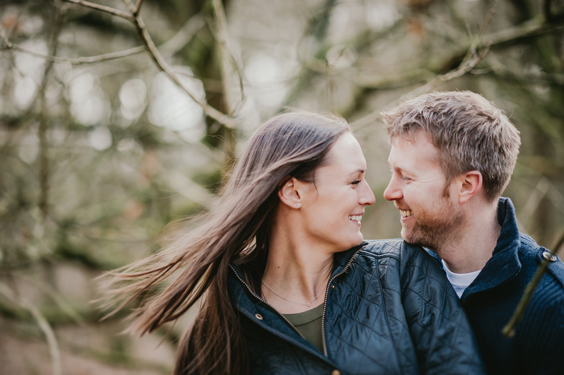 Homey Woodland Engagement Session in Manchester Gary Anderson07