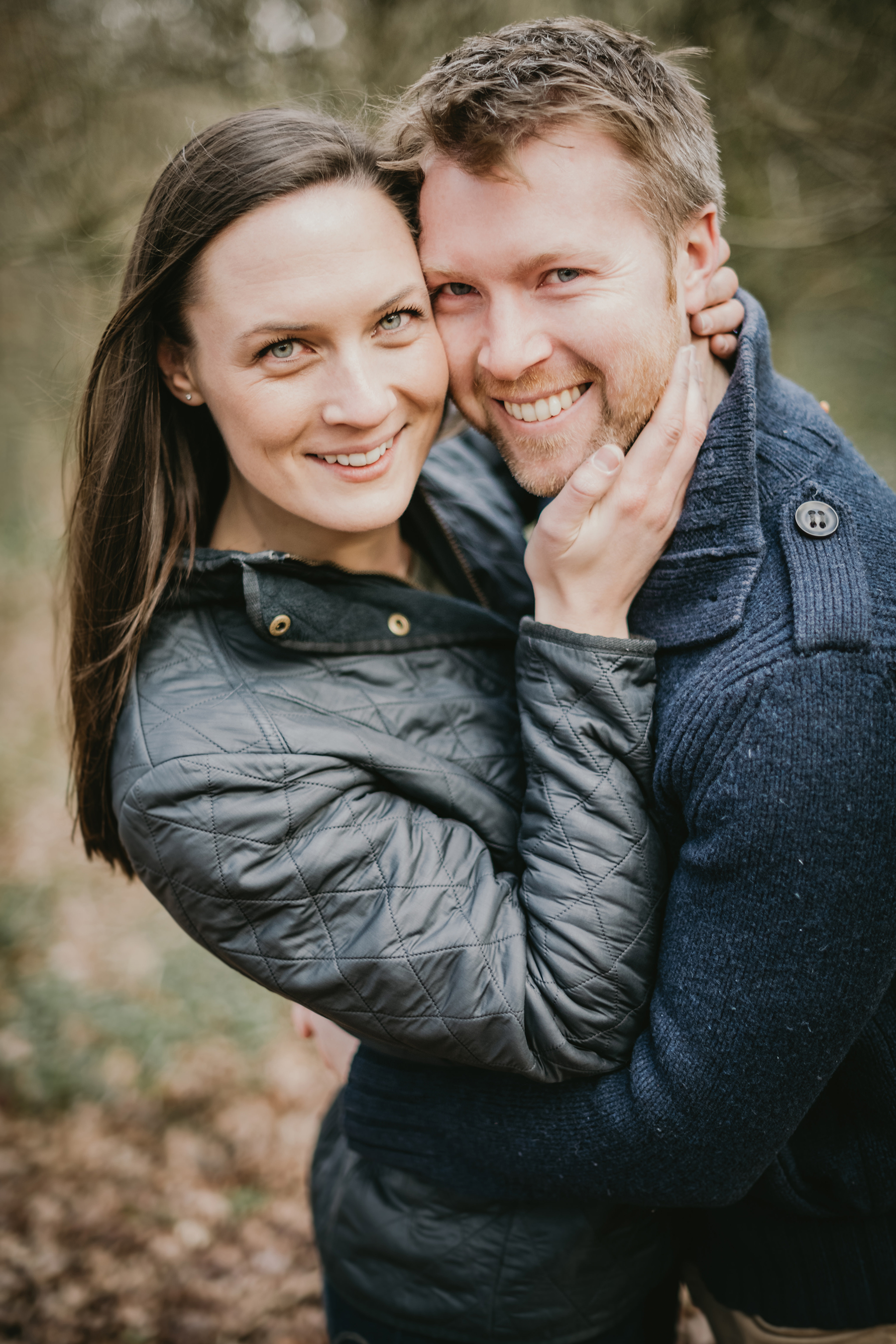 Homey Woodland Engagement Session in Manchester Gary Anderson12