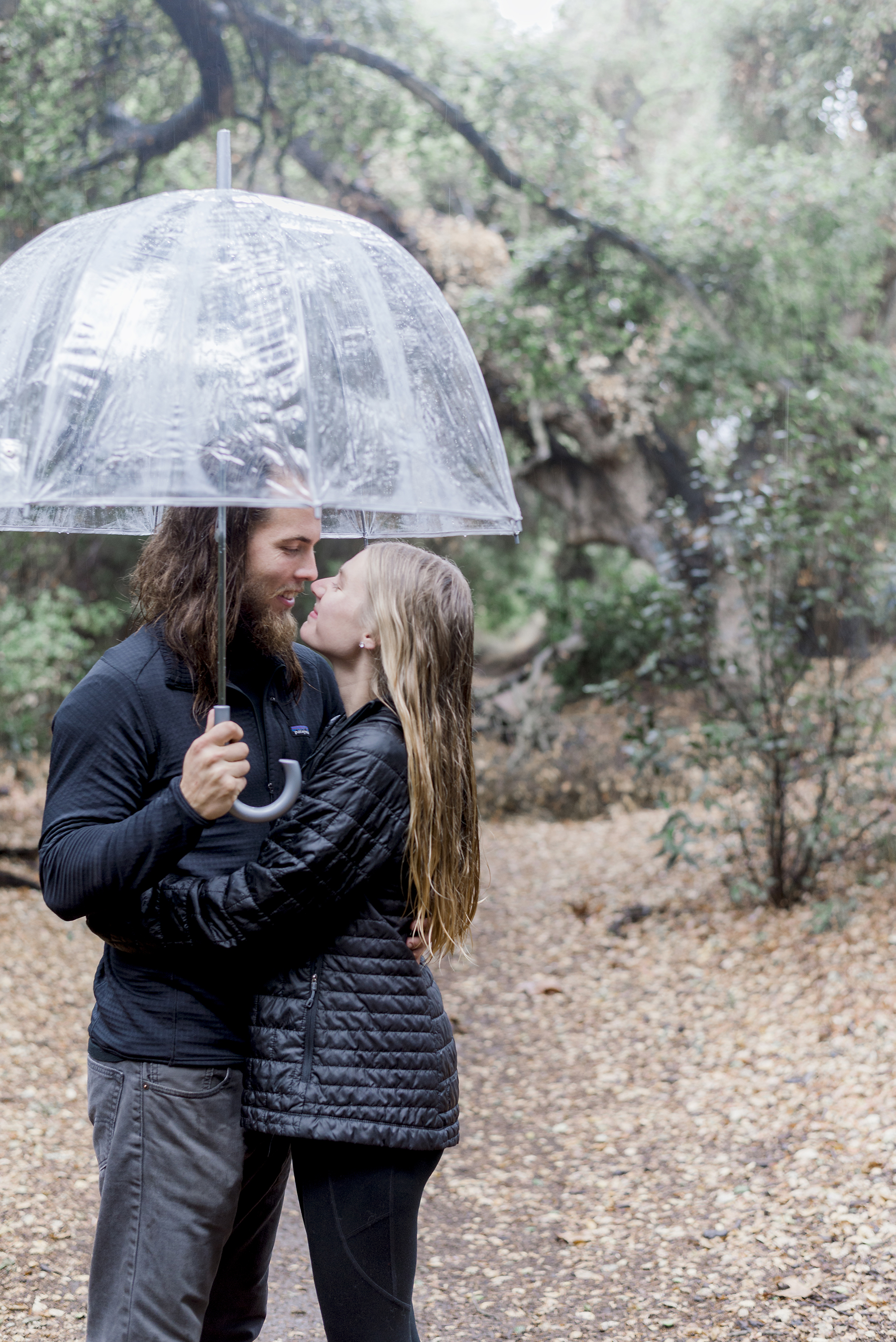 Rainy Day Engagement Session in Big Bear Victoria Parker03