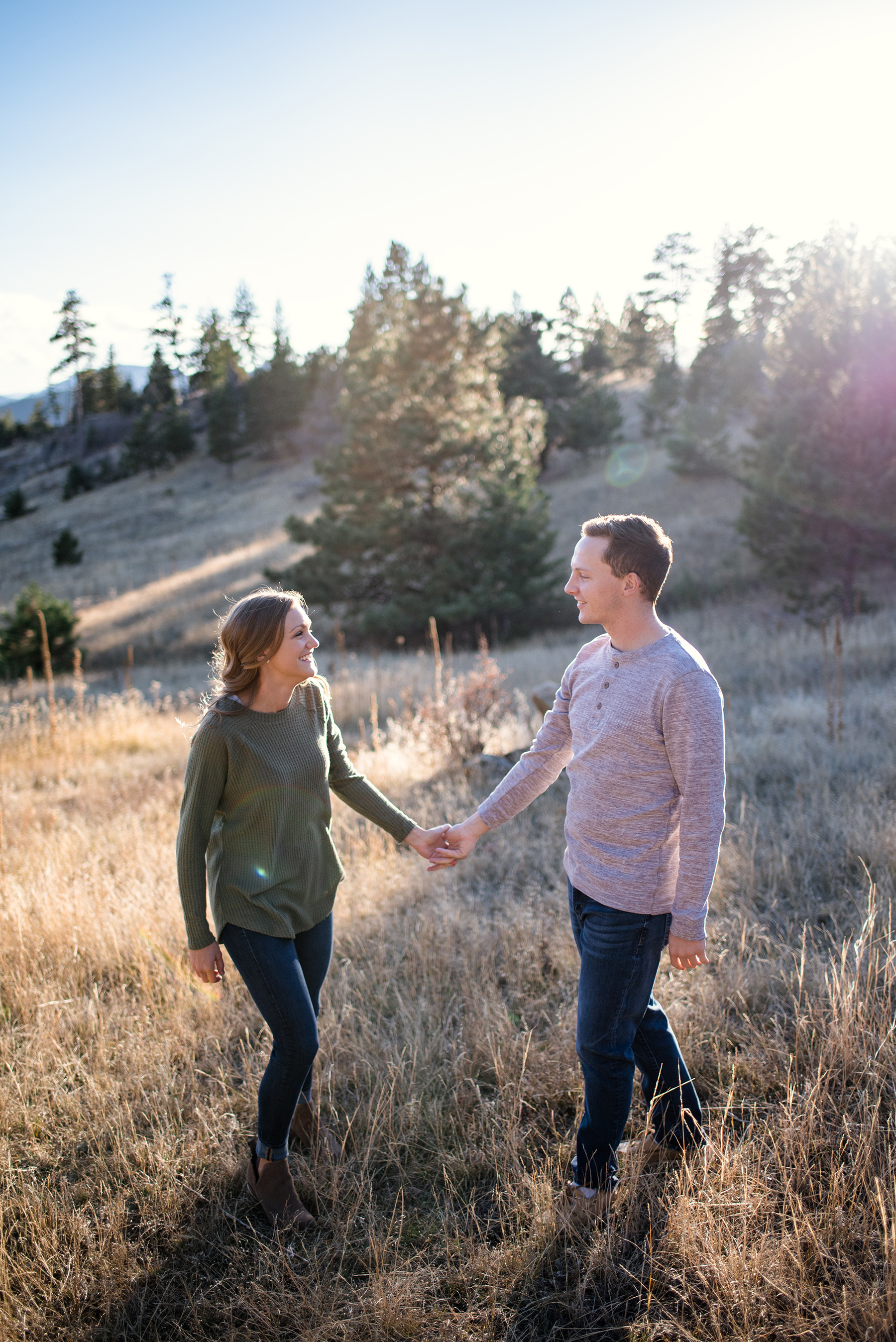 Serene Mountainside Engagement Session in Denver Molly Margaret Photography04