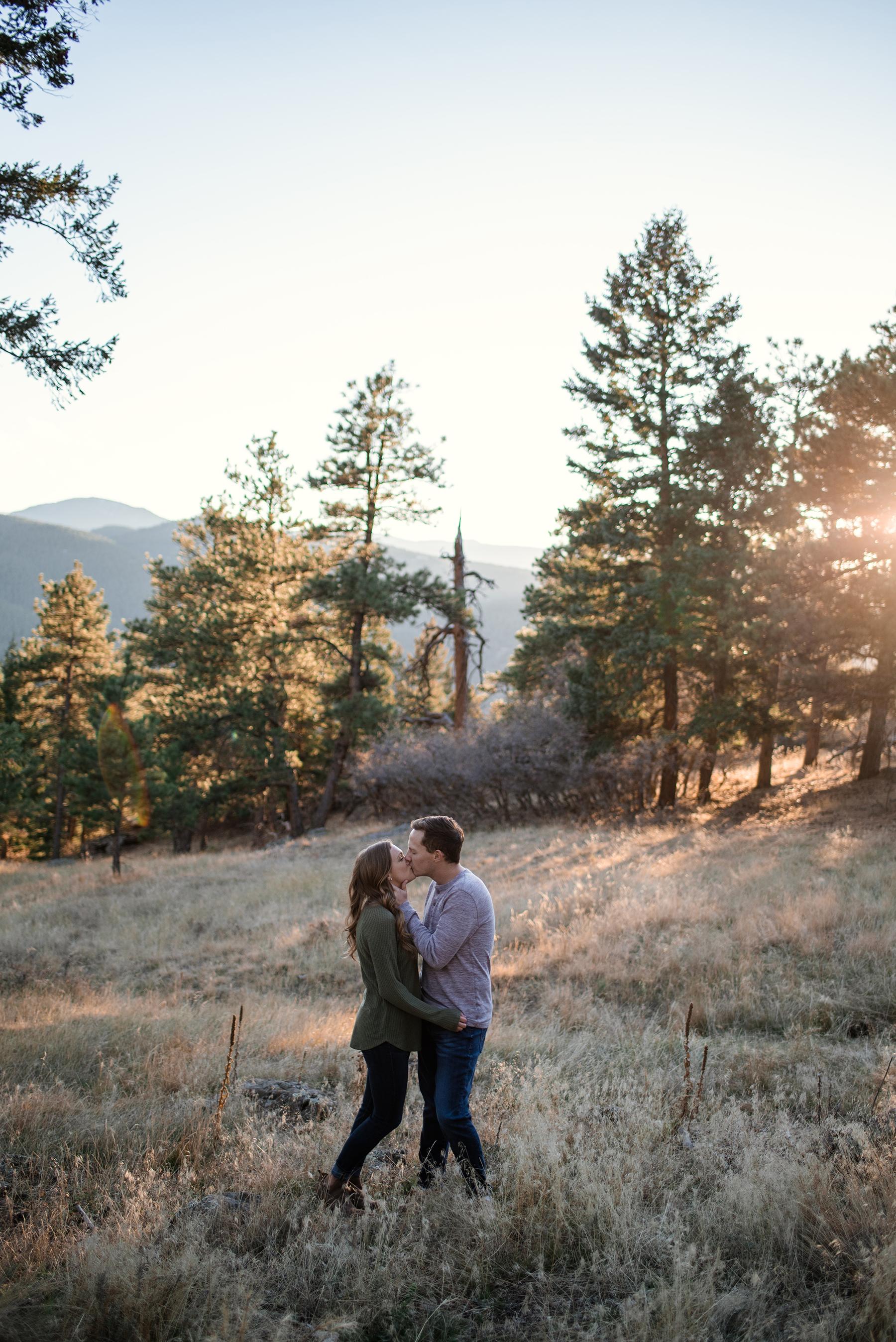 Serene Mountainside Engagement Session in Denver Molly Margaret Photography10