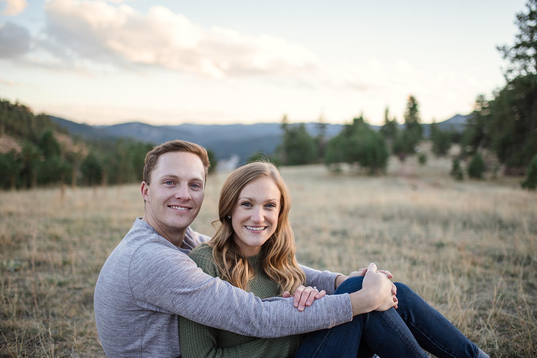 Serene Mountainside Engagement Session in Denver Molly Margaret Photography11