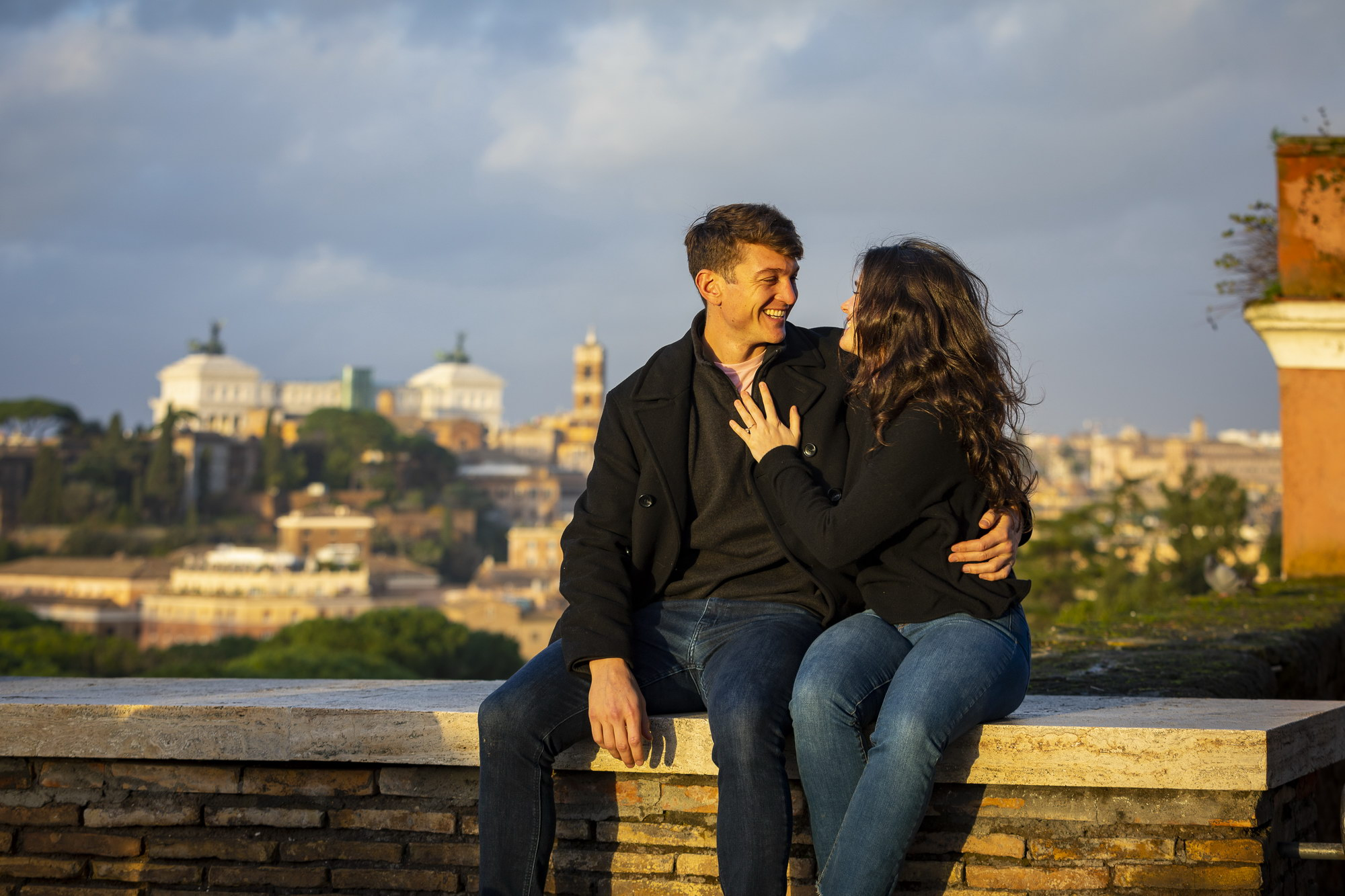 Christmas Engagement Proposal in Rome Andrea Matone07