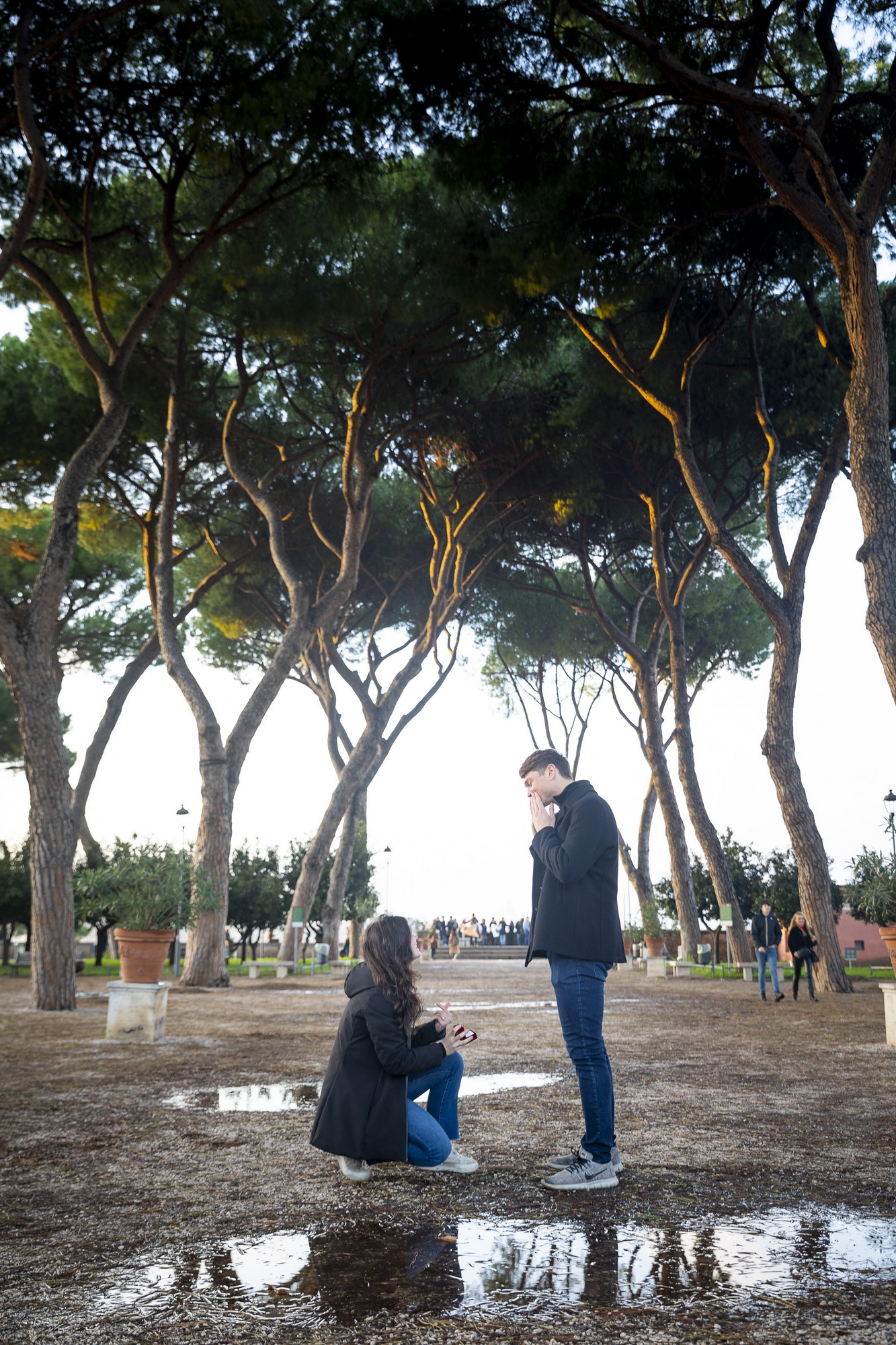 Christmas Engagement Proposal in Rome Andrea Matone10
