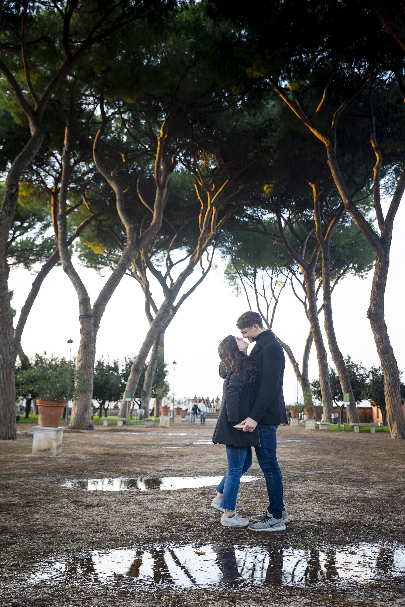 Christmas Engagement Proposal in Rome Andrea Matone11