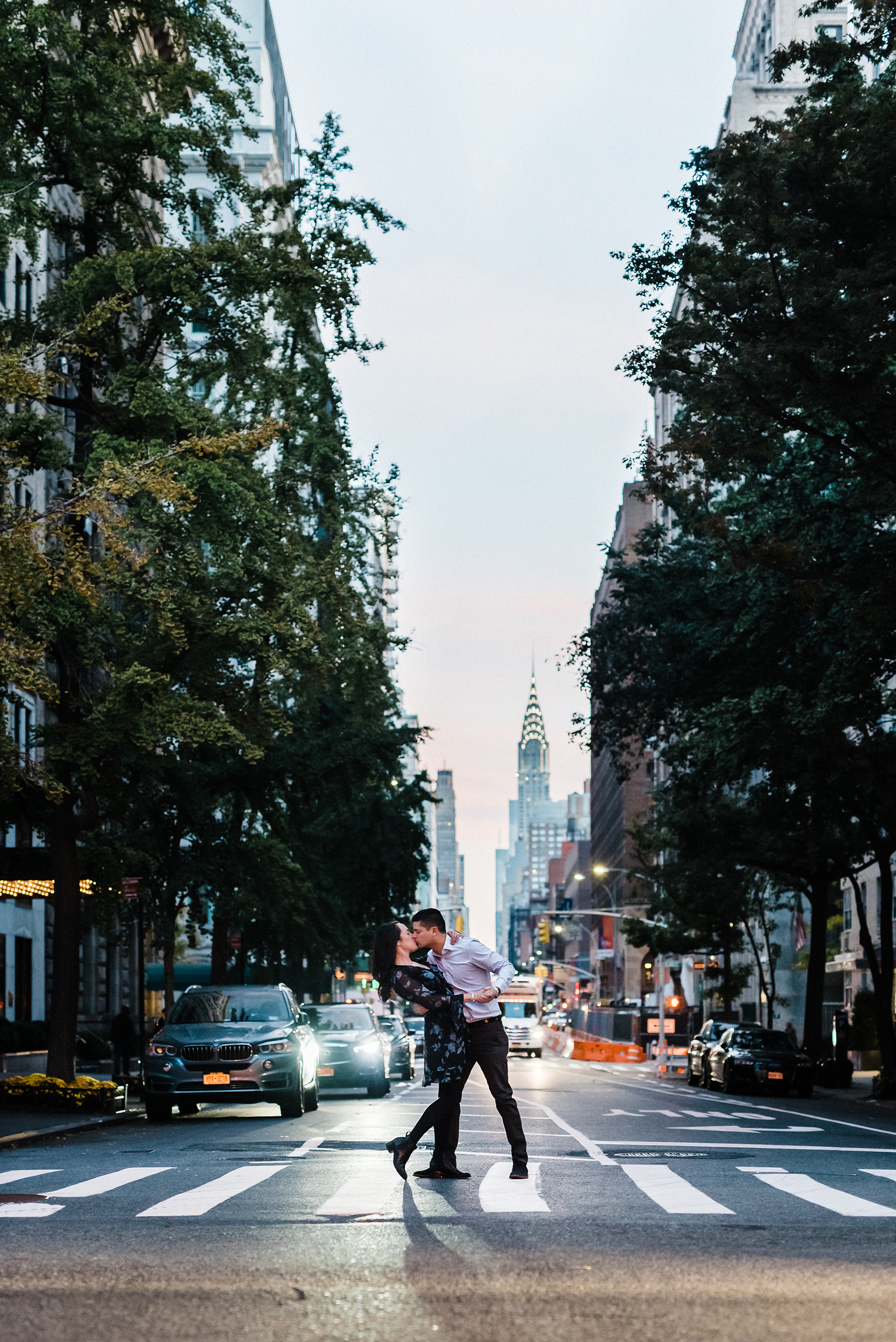 Intimate Gramercy Park Engagement Session in New York City Josie V Photography01