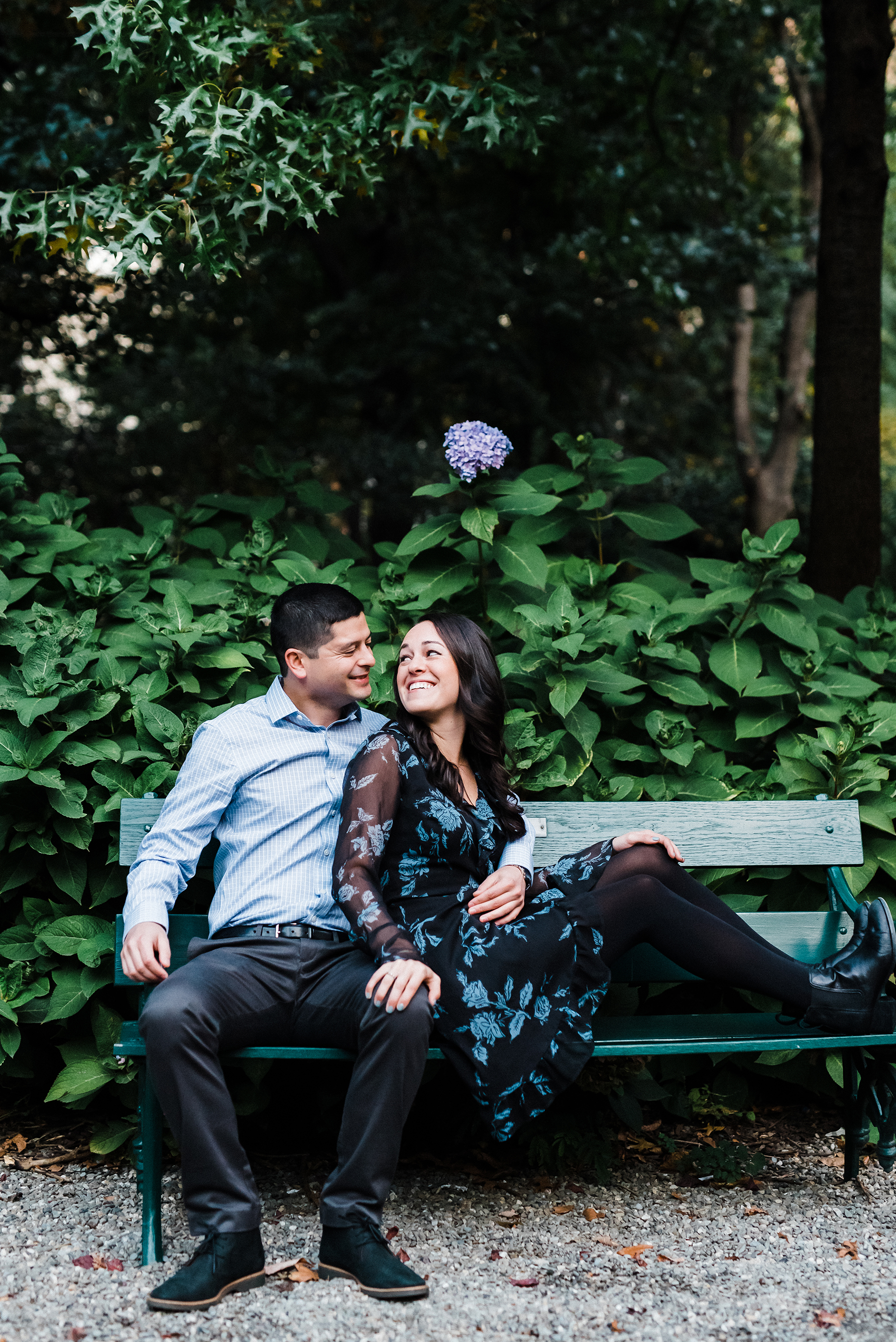 Intimate Gramercy Park Engagement Session in New York City Josie V Photography03