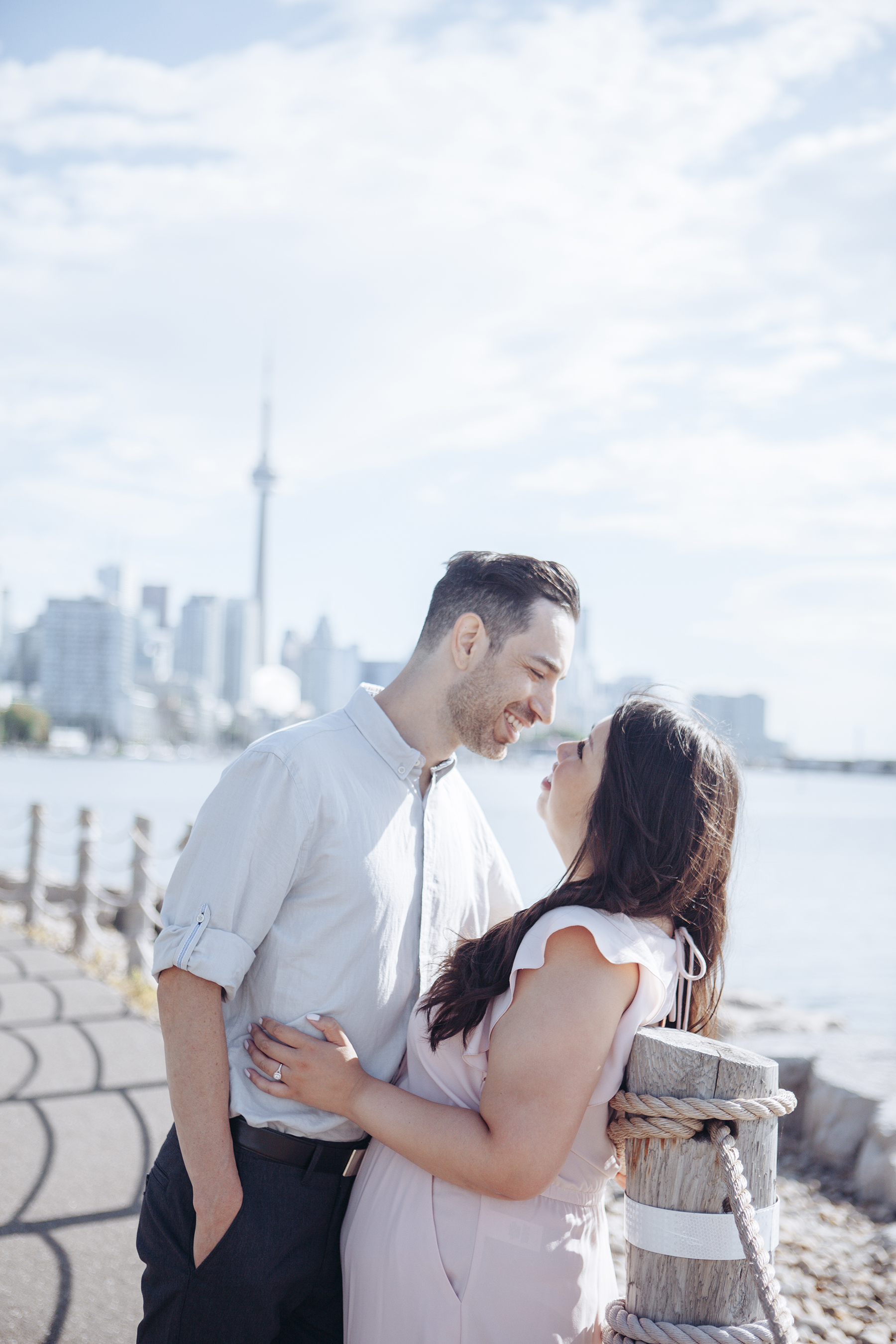 Trillium Park Engagement Session in Toronto Lisa Vigliotta Photography10
