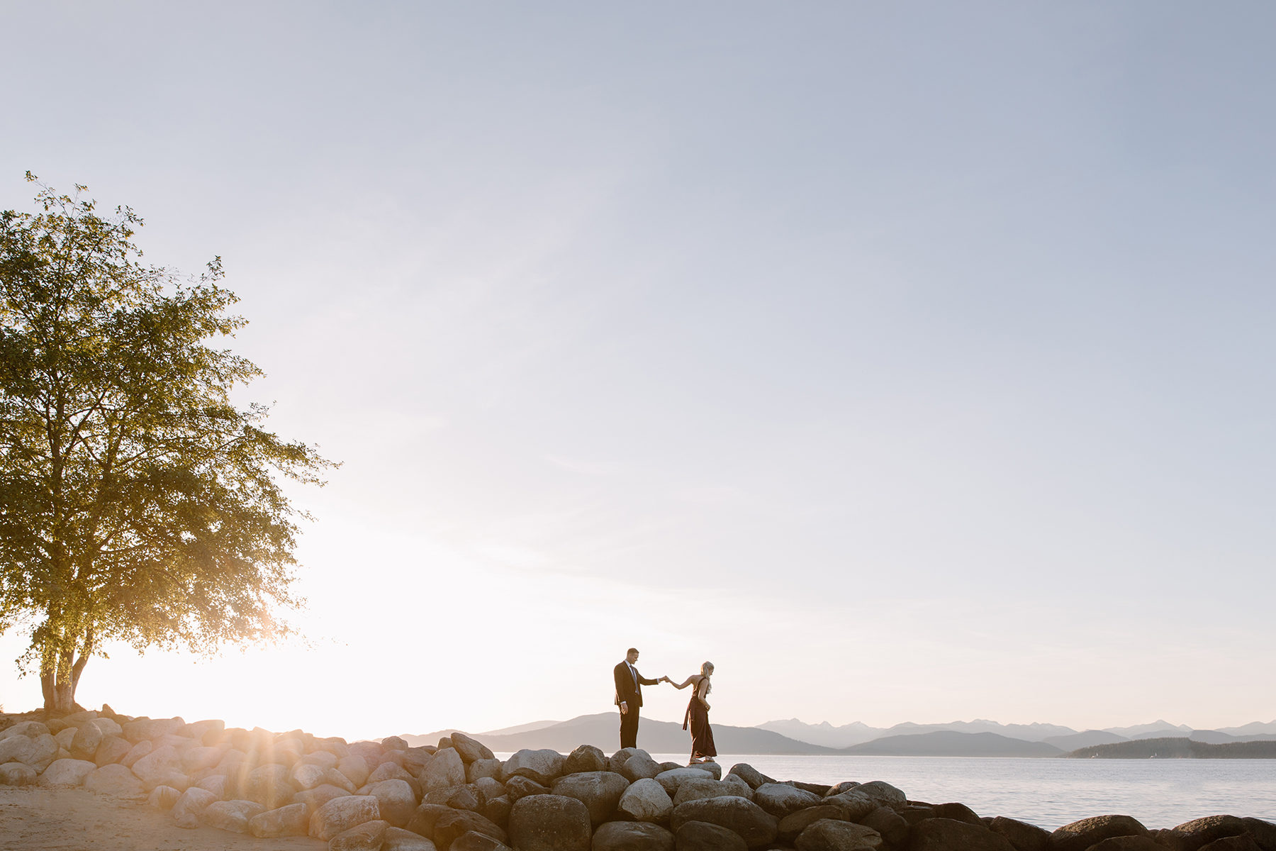 Woodsy and Coastal Engagement Session in Vancouver Karizma Photography09
