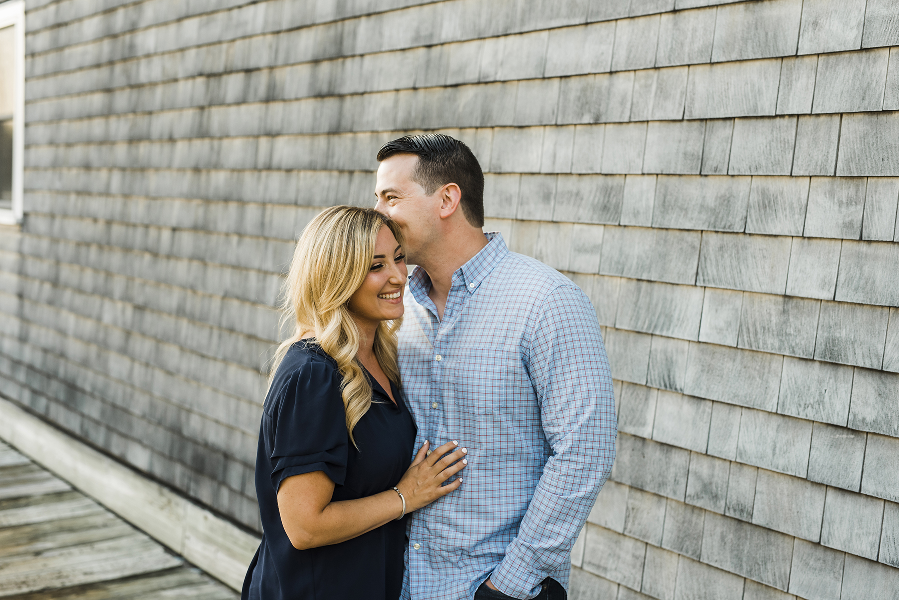 Sage and John's Engagement Session in Northport, NY