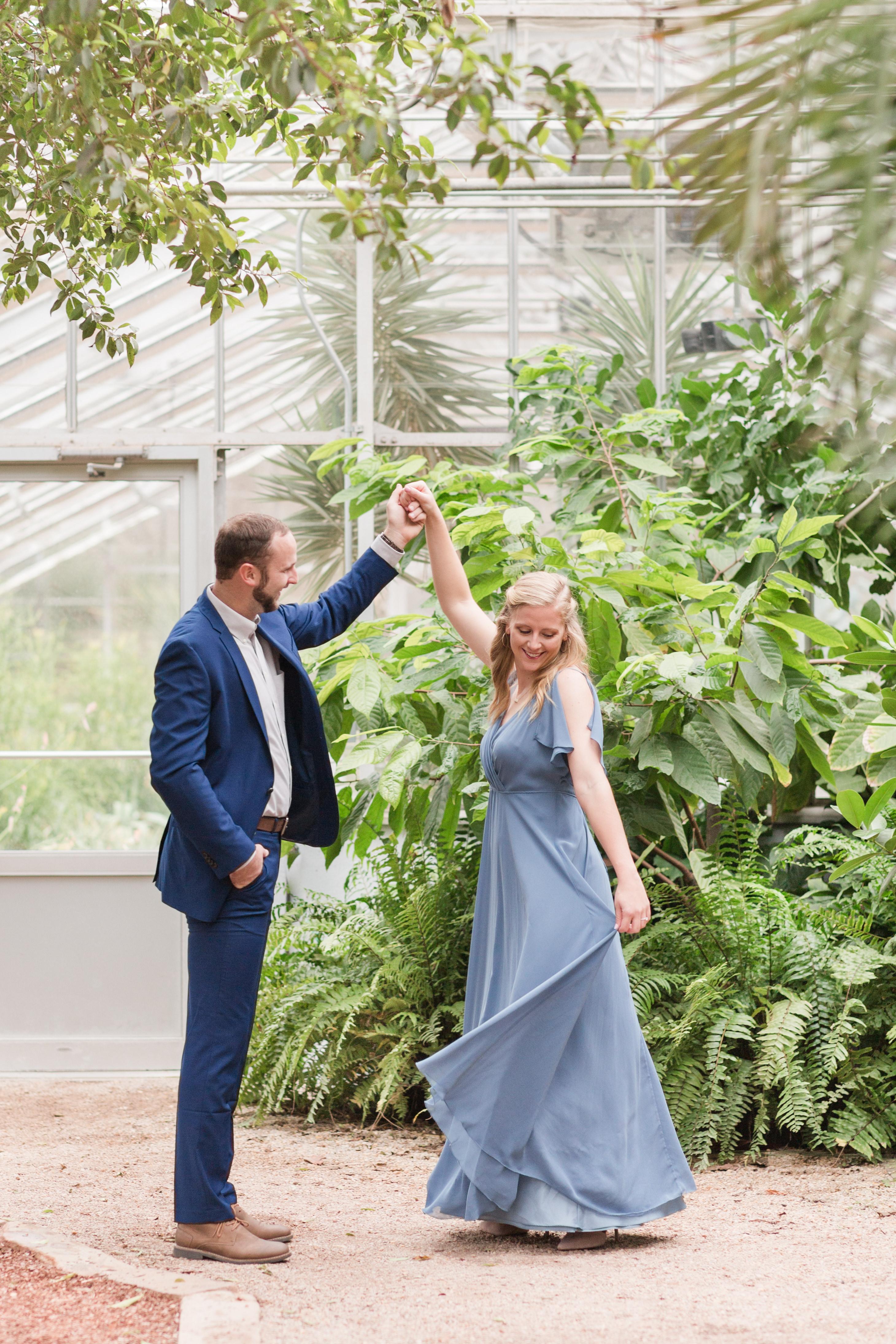 Dana +  Sam Engaged