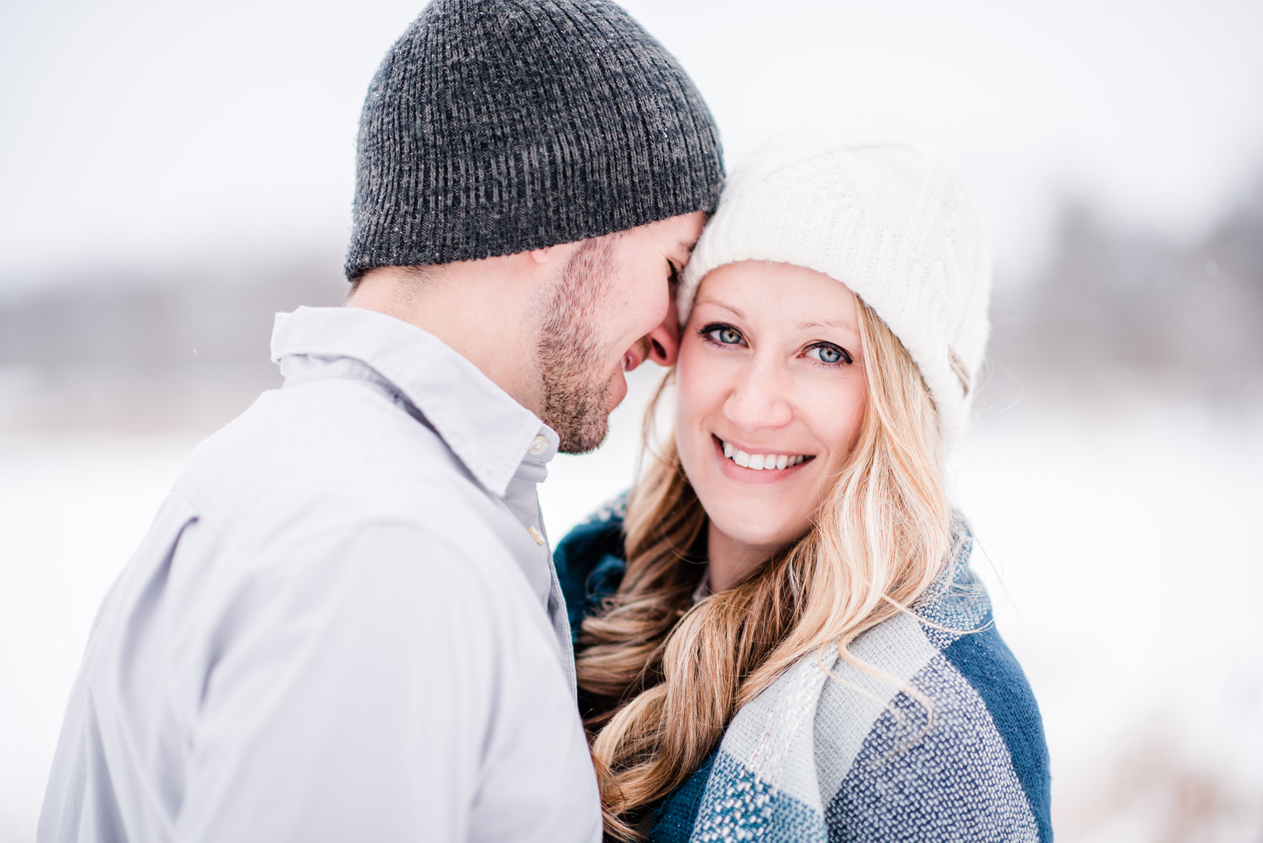 Snowy Wisconsin Engagement Session Ruxin John Photography01