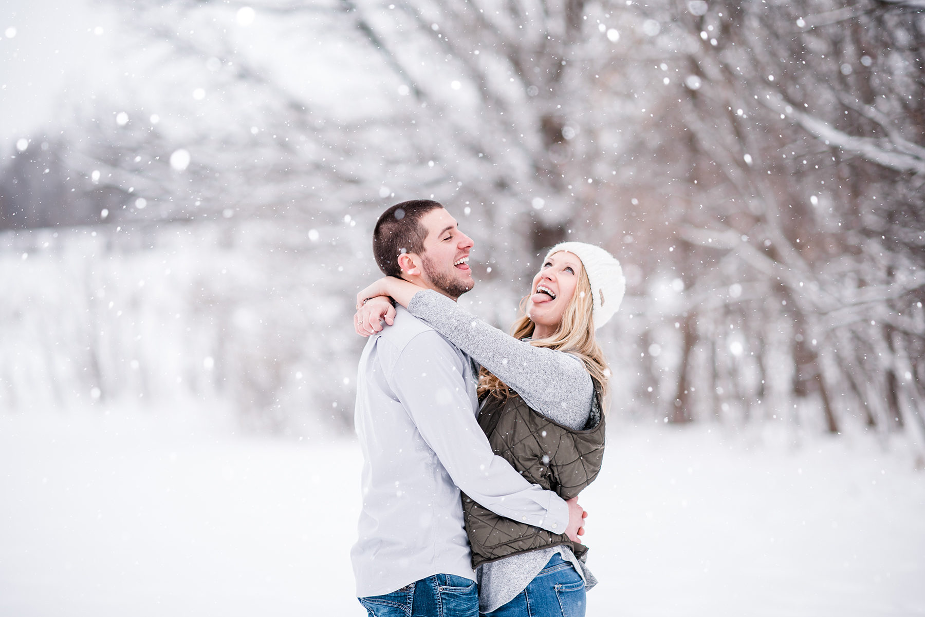 Snowy Wisconsin Engagement Session Ruxin John Photography02