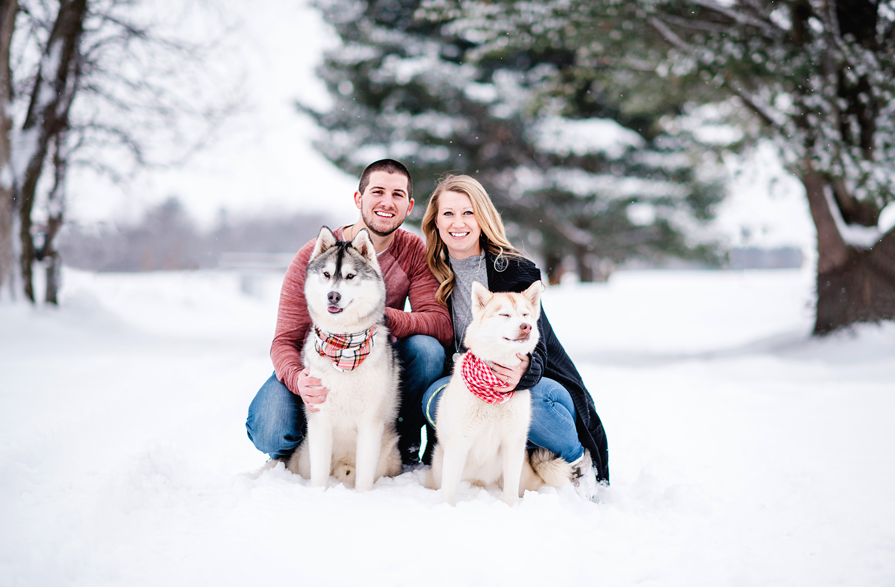 Snowy Wisconsin Engagement Session Ruxin John Photography03