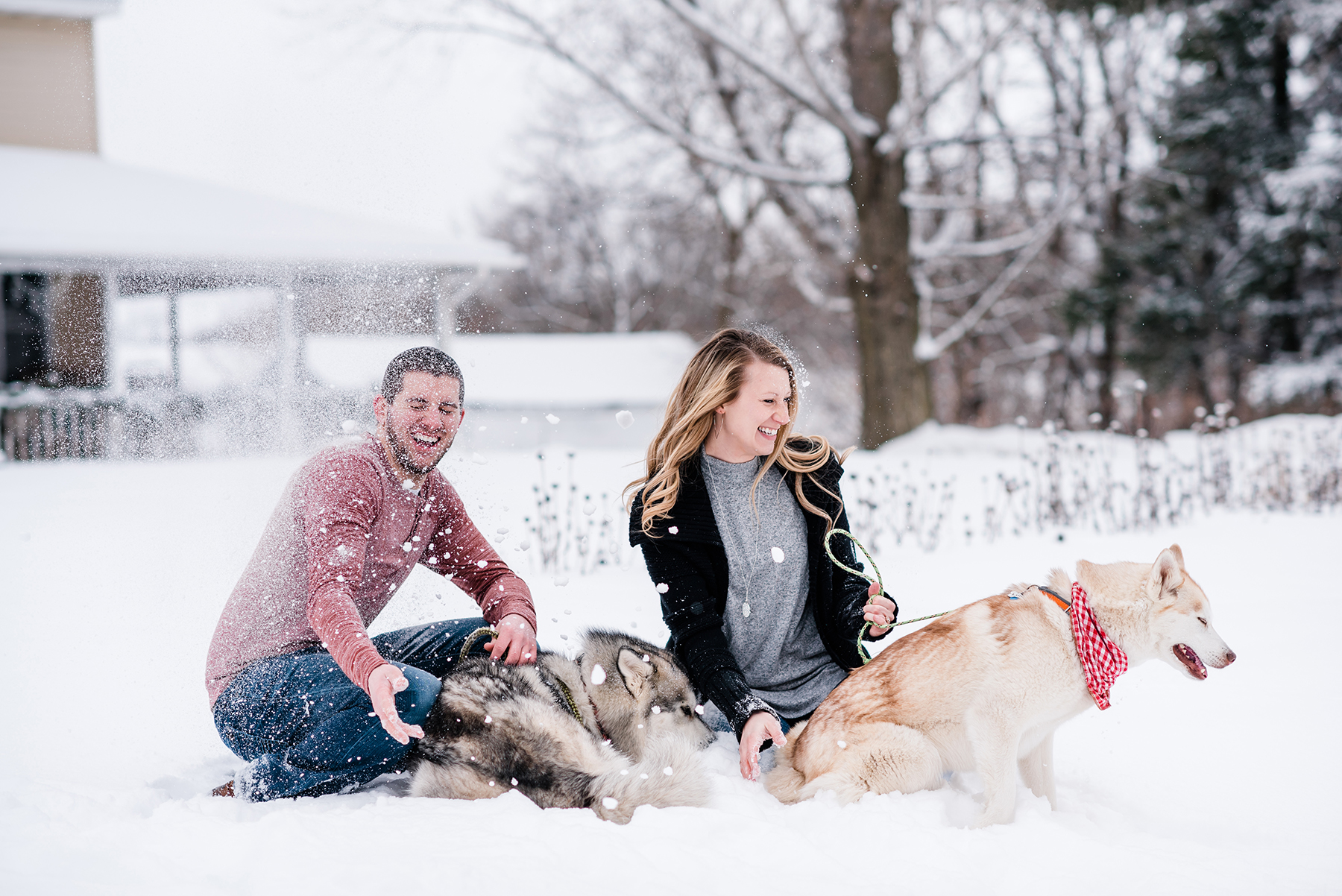 Snowy Wisconsin Engagement Session Ruxin John Photography05