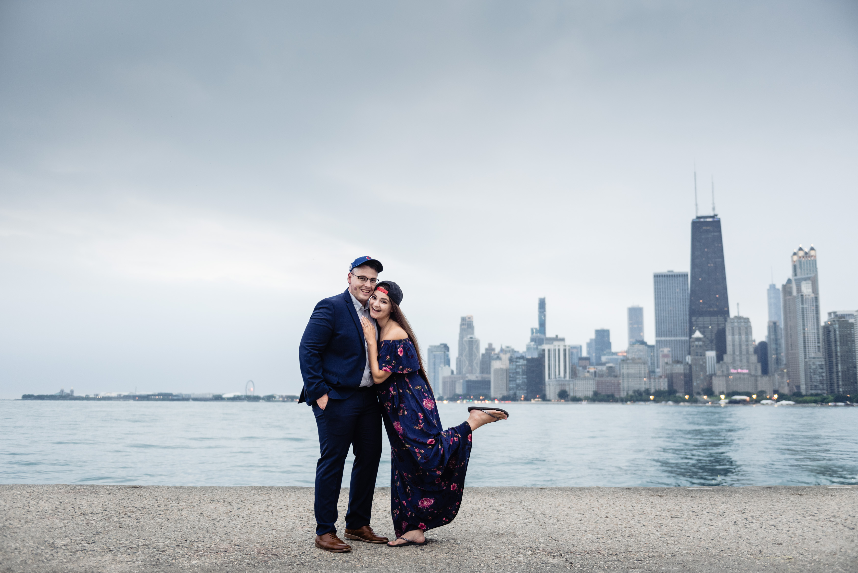 Urban Engagement Session in Chicago Jennifer Lourie Photography10