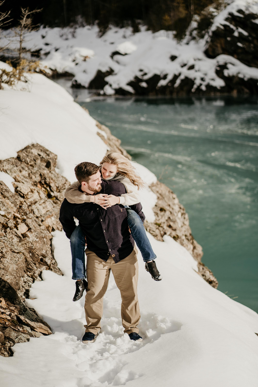046Glacier Engagement Session_Lake McDonald Adventure Session_Cassidie & Austin_February 22, 2020-128