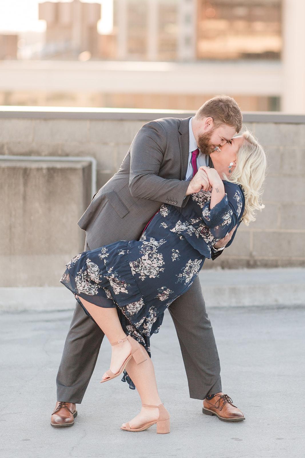 Leigh + Nick Engaged