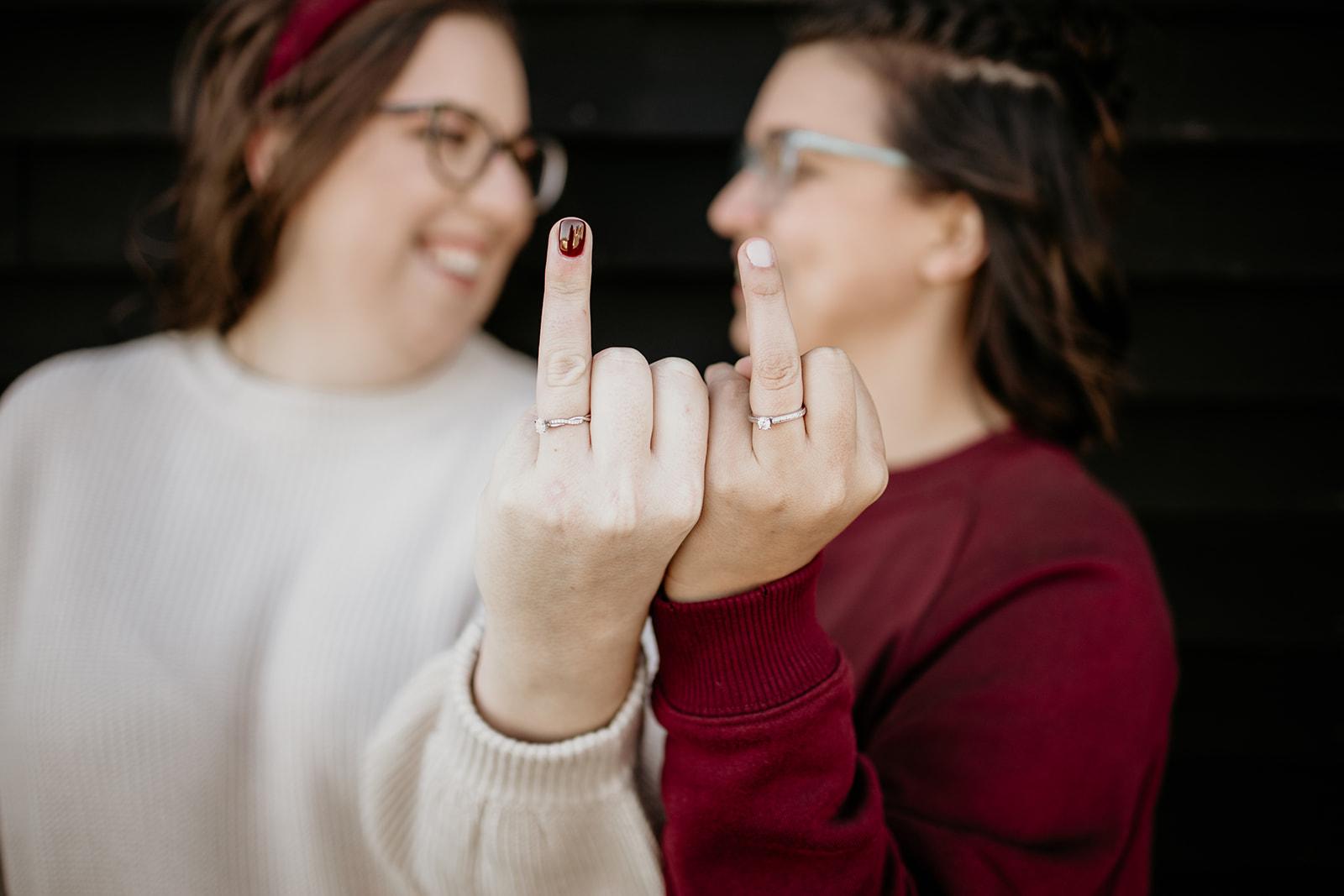 Tiana + Ashley Engagement Session